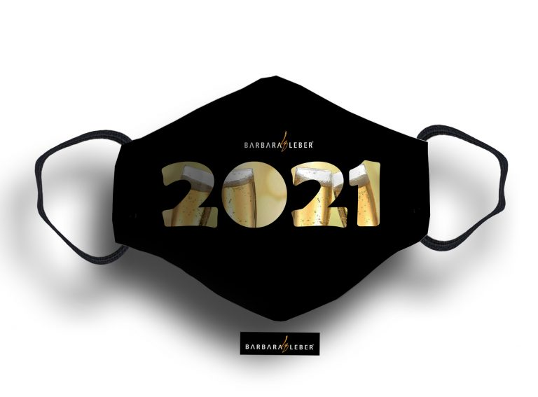 WASHABLE MASK - 2021 CHAMPAGNE