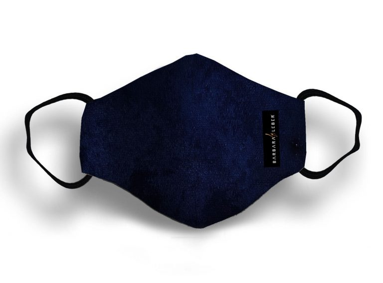 VELVET MASK -DARK BLUE