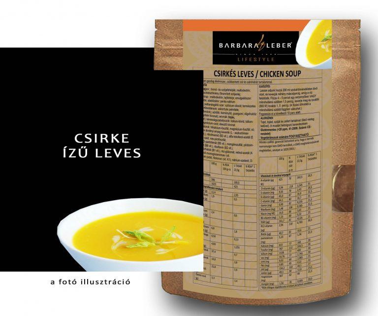 csirke ízű leves